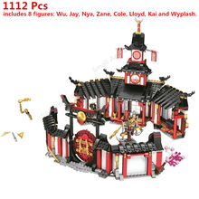 1112 Pcs Ninja Monastery Of Spinjtzu Compatible 70670 Building Blocks Bricks Children Classic Model Toys Gifts compatible with lego ninja 70751 2150 pcs 06022 blocks ninja figure temple of airjitzu toys for children building blocks 70603