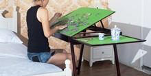 jigsaw puzzle table storage folding tilting table 1500 pcs mat PTTFT