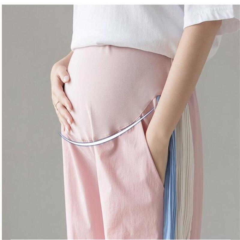 magro cinto ajustável barriga maternidade legins rosa preto plus size 4xl 3xl l