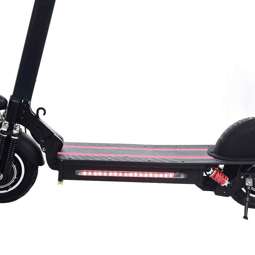 1200W Scooter Eléctrico de doble conducción bicicleta eléctrica plegable negro y rojo para adultos y niños bicicleta eléctrica