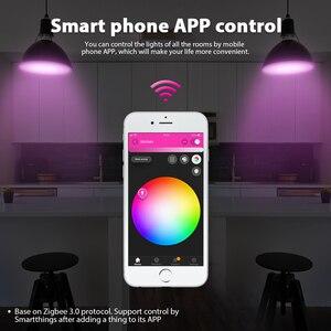 Image 3 - جلودوبتو زيجبي لمبة LED ذكية 2 حزمة اللون تغيير RGBCCT E27 E26 6 واط ضوء لمبة متوافق مع الأمازون صدى زائد اليكسا محور