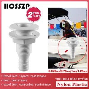 Image 3 - 해양 요트 ABS 물 콘센트 액세서리 빌지 펌프 배수 구멍 통풍기 용 선체를 통한 플라스틱 빌지 액세서리