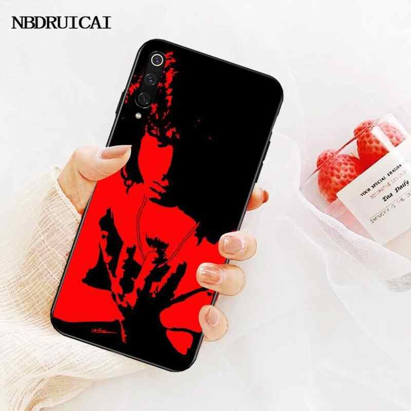 Nbdruicai ドアジム · モリソン黒 tpu ソフト電話ケース redmi 注 8 8A 7 6 6A 5 5A 4 4X 4A プロプラスプライム