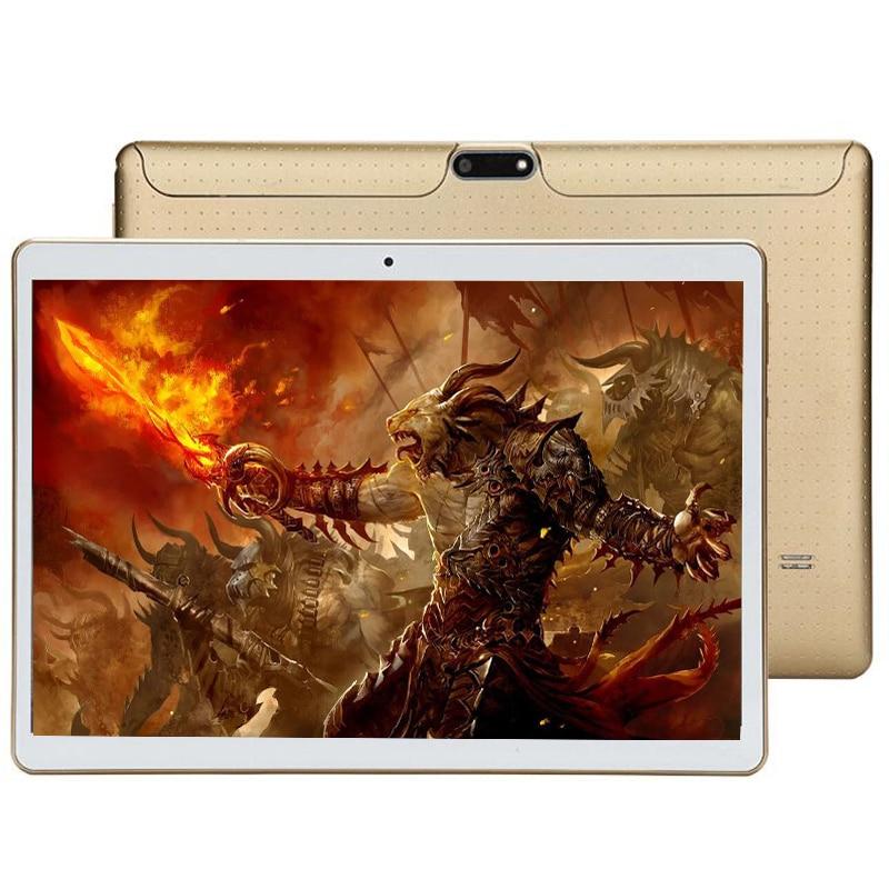 2019 enfants grande capacité T805C tablette PC livraison gratuite 10.1 pouces 3G/4G LTE téléphone Android 8.0 Octa Core RAM 4GB ROM 128GB 64GB IPS