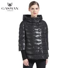 Gasman 166111 冬黒人女性のコートダウンファッションブランド女子ショートダウンジャケットコートパーカー女の子防風フグジャケット 2019