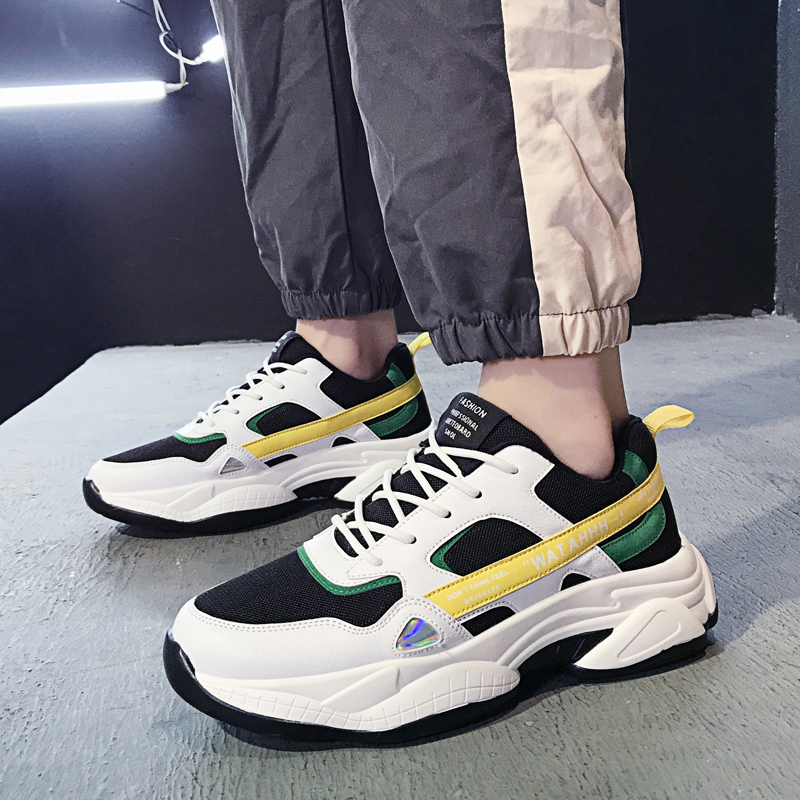 Hot Sale New Casual Shoes Mesh Men Sneakers Lac-up Men Shoes Lightweight Comfortable Breathable Walking running shoes zapatos de hombre