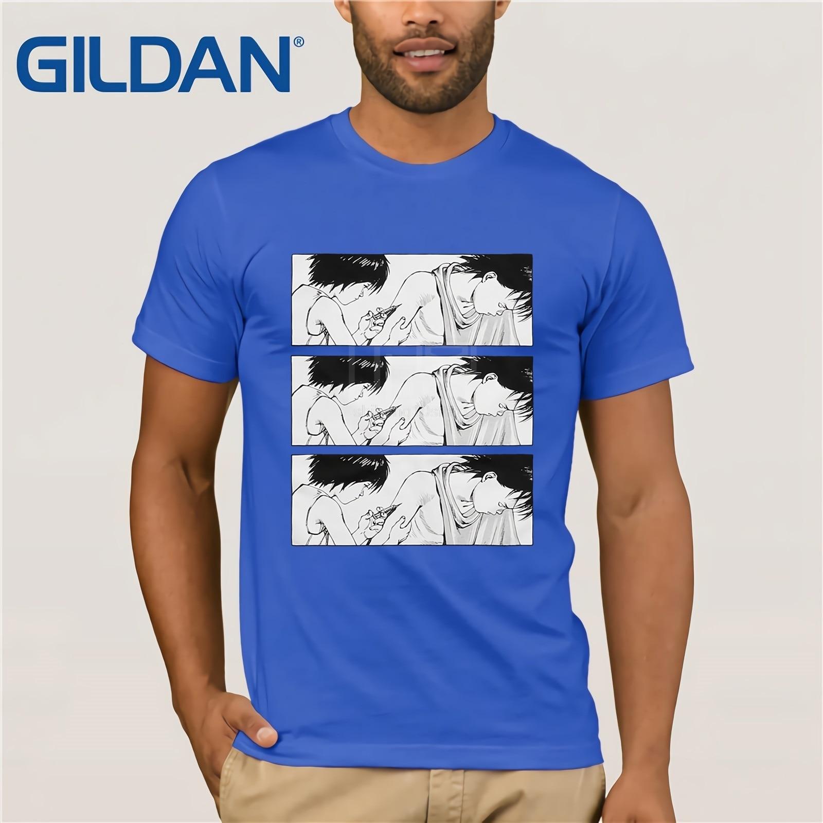 AKIRA T shirts High Quality AKIRA T shirt Hip Hop Cartoon Top Tees Fashion AKIRA T shirts in T Shirts from Men 39 s Clothing