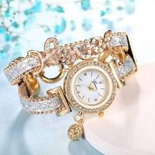 Fashion Ladies Watch Analog Women Quartz Wristwatch Ladies Dress Bracelet