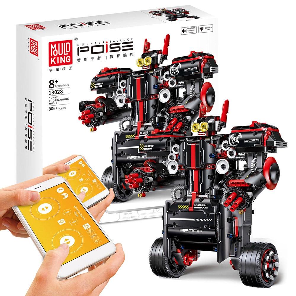 DIY Электрический робот пульт дистанционного управления строительные блоки программируемые Обучающие игрушки полуфабрикат RC Робот Модель ... - 4