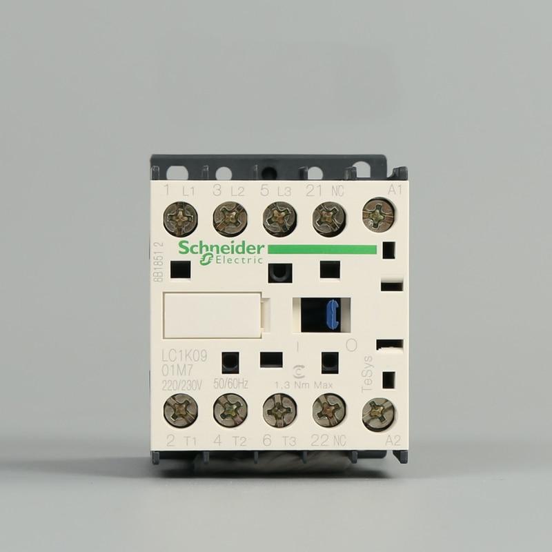 novo original autentico exportacao lc1k0901m7 contator de tres polos 9a 220 v 50 60 hz 2