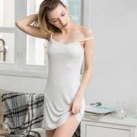 Женские слипы, 100% натуральный шелк, белые, полные слипы, здоровое, под платье, анти опорожнение, нижнее белье, Повседневное платье-комбинация...