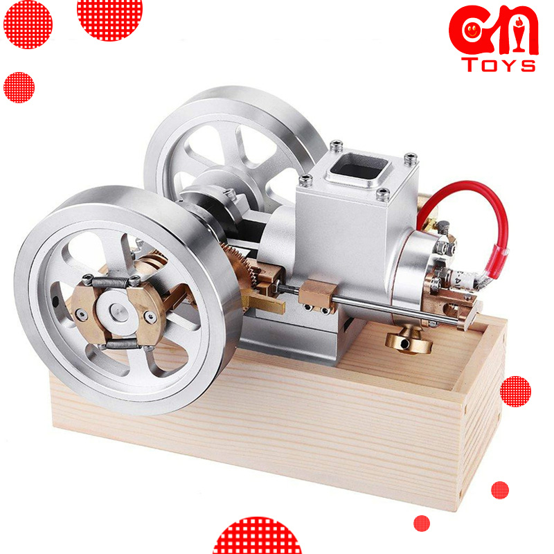 Spot Gasoline Engine Model ET1 Upgrade Version Hit Miss Oil Gas Engine Combustion Engine Series Teaching Engine