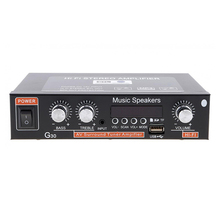 G30 Easy Use Stereo Car Amplifier Bass 12V Audio Remote Control Electronics
