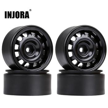 "INJORA 4PCS 1.9"" Beadlock Wheel Rims for 1/10 RC Crawler Car Axial SCX10 II 90046 Traxxas TRX-4 RedCat Gen8 1"