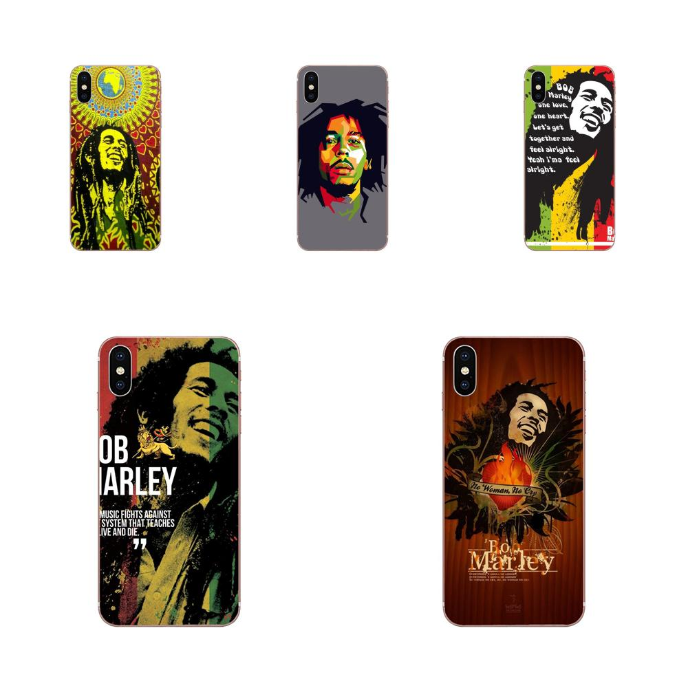 Phone Case Cover Rasta Lion Reggae Bob Marley For Samsung Galaxy A10 A20 A20E A3 A40 A5 A50 A7 J1 J3 J4 J5 J6 J7 2016 2017 2018