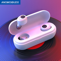 Anomoibuds Capsule Pro White  IP010-X 50 Hour Playtimes TWS Earbuds Bluetooth Earphone  Wireless headphone Gaming for Xiaomi