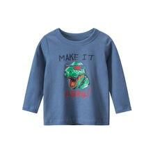 Детская одежда новинка осенняя для малышей рубашка мальчиков