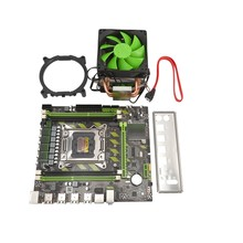 X79 LGA2011 Motherboard SATA3.0 2.0 USB2.0 DDR3 1866MHz Dual Channel Mainboard for Xeon/Core CPU with CPU Cooler Fan(China)