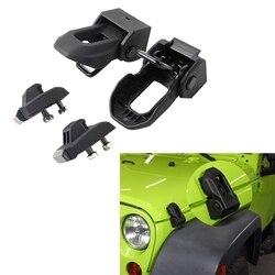 Dla Jeep Wrangler JK JL 2007 2019 zatrzask zatrzask samochodu akcesoria do modyfikacji kaptura w Klocki i części od Samochody i motocykle na