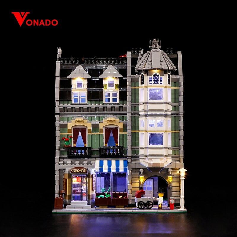 LED Light Kit for LEGO Green Grocer set 10185 Lego LED Kit LIGHT MY BRICKS