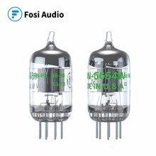 Fosi أنابيب تفريغ الصوت 7 Pin 5654 واط ترقية ل 6AK5 6J1 6J1P EF95 اقتران أنابيب 2 قطعة للصوت مكبر للصوت