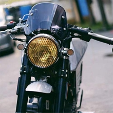 Фара мотоцикла обтекатель лобового стекла ветрового стекла совместимый для Triumph Bonneville 2001-, T100 2003