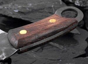 Image 3 - XITUO cuchillo de Chef japonés de alta forja de acero revestido de carbono, cuchillo de Chef Santoku, cuchillo antiadherente Nakiri Cleaver Gyuto Kiritsuke