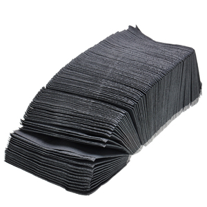 Image 3 - 125PCS/Pack Disposable Tattoo Wipes Scarf Black Cleaning Piercing Bibs Waterproof Sheets Paper For Dental Tattoo Accessories