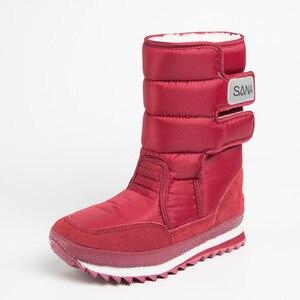 Image 3 - Dwayne womens snowboots waterproof warm plush boots non slip snow boots Botas de mujer Botas de invierno de mujer plus size