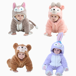 Male and female baby clothes out clothes for fall and winter clothes newborn 0-3 years old baby one-piece cotton coat
