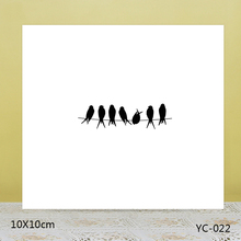 AZSG bird Clear Stamps For DIY Scrapbooking Rubber Stamp/ Seal Paper Craft Stamp Card Making