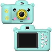 Digital-Camera Video Selfie Mini Children Cartoon Cute 1080P HD Birthday-Gift
