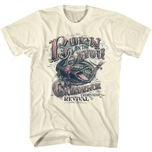 Creedence Clearwater Revival Lahir Di Bayou Mens T Shirt Rock Band Konser(China)