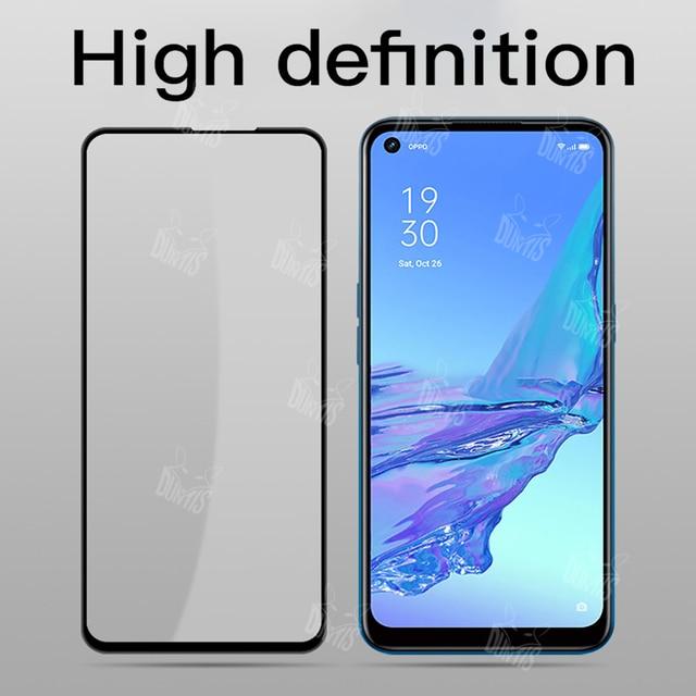 New 9D Tempered Glass For Oppo A93 A92 A53 A52 A31 A12 Full Cover Screen Protector tempered glass For Oppo A33 2020 glass film 5