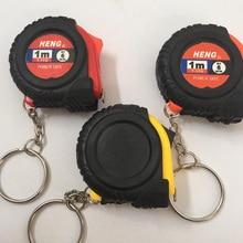 2019 hot sale Creative Retractable Ruler Tape Measure Key Chain Mini Pocket Size Metric 1m/3.28Ft/39″ Keyring Keychain