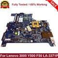 Per Lenovo 3000 Y500 F50 Scheda Madre Del Computer Portatile Mainboard 940GML DDR2 IGL50 IGL51 LA-3371P Completamente Testato Trasporto Veloce