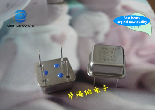 5pcs 100% New And Orginal Spot Supply In-line Crystal VCXO Voltage Control Zhong Zhen Square DIP-4 2.208MHZ 2.208M