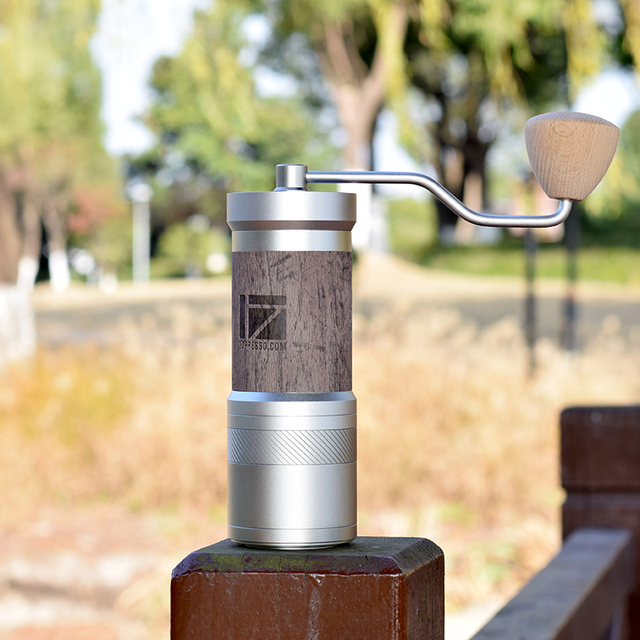 1zpresso JEPLUS coffee grinder Portable manual coffee mill 47mm 304stainless steel burr adjustable