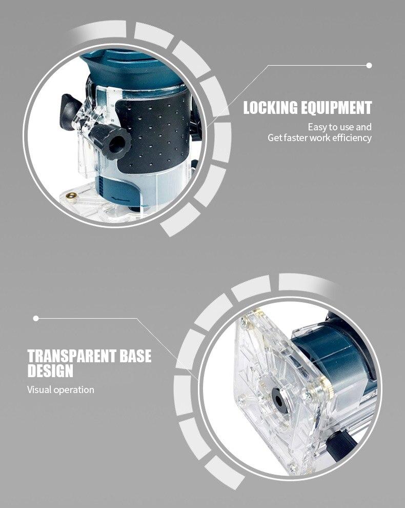Transparent base design