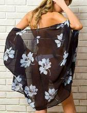 13 Styles Women Chiffon Kimono Beach Cardigan Bikini Cover Up Wrap Beachwear Dress ruoru 2017 beach cover up coat clothes plus size chiffon kimono blouse shirt women floral chiffon women tops for kimono cardigan