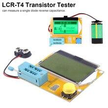 LCD Digital Transistor Tester Meter ESR Meter For MOSFET/JFET/PNP/NPN L/C/R LCR-T4 9V Backlight Diode Triode Capacitance цена и фото