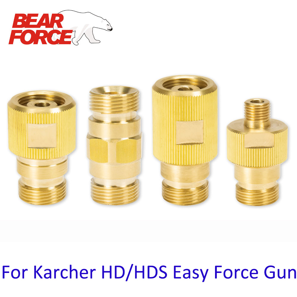 Pressure Washer Brass Connector Fitting Car Washer Adapter Connection For Karcher HD HDS Easy Force Trigger Gun Lance Hose Tube