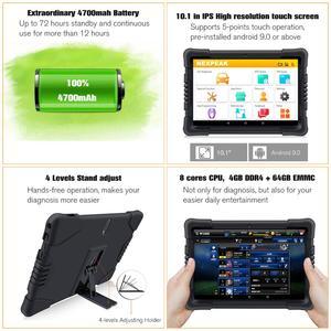 Image 5 - NEXPEAK K1 PRO OBD2 strumento diagnostico per auto Scanner ABS SRS TPMS DPF IMMO chiave EPB ripristino olio OBD2 Scanner automobilistico professionale