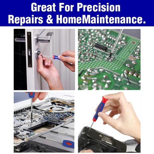 WORKPRO 100PC Screwdriver Set Home Tool Set Precision Screwdrivers for Phone Screw Driver 6