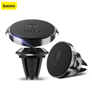 Baseus Car Phone Holder For iPhone 7 Samsung 360 Degree Magnetic Mobile Phone Holder Air Vent Mount Car Cell Phone Holder Stand