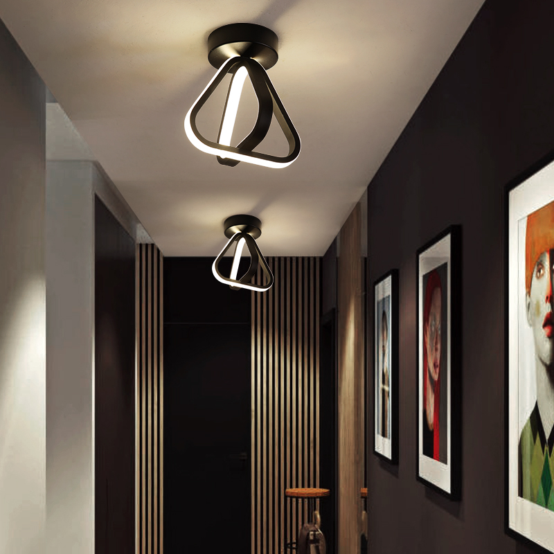 LICAN chandelier lighting lamp for living room bedroom study roomentrance hallway personality aisle minimalist Modern chandelier(China)