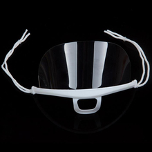 10pcs  Tattoo Transparent Plastic Face Mask Environmental for Cleaning Supplies Permanent Makeup