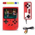 400 В 1 игровая Мини Портативная ретро-игровая консоль, 8 бит, 3,0 дюйма, цветной ЖК-экран, Gameboy для детей