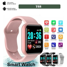 Mens Sports Bracelet Blood Pressure Heart Rate Bluetooth Fitness Tracker Watch Women Android ios Smart Watch Child Gift 2021