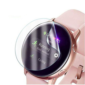 Image 3 - 5pcs TPU Soft Protective Film Guard For Samsung Galaxy Watch Active 2 40mm/44mm Active2 SmartWatch Screen Protector Full Cover